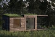 Фото 22 Проект бани из бруса с террасой: открывая новые возможности