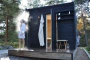 Фото 23 Проект бани из бруса с террасой: открывая новые возможности