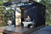 Фото 27 Проект бани из бруса с террасой: открывая новые возможности