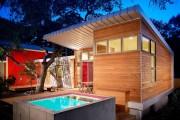 Фото 1 Проект бани из бруса с террасой: открывая новые возможности