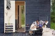 Фото 3 Проект бани из бруса с террасой: открывая новые возможности