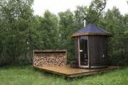 Фото 8 Проект бани из бруса с террасой: открывая новые возможности