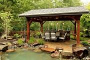 Фото 8 Беседки с печкой, мангалом или барбекю (50 фото) — отличное место для приятного отдыха