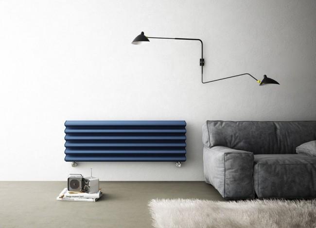 Цельный биметаллический радиатор отопления