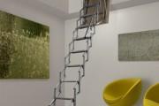 Фото 2 Чердачная лестница с люком — модный помощник в доме