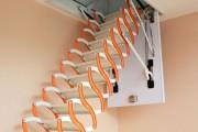 Фото 16 Чердачная лестница с люком — модный помощник в доме