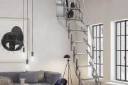 Фото 18 Чердачная лестница с люком — модный помощник в доме