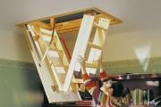 Фото 17 Чердачная лестница с люком — модный помощник в доме