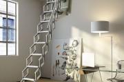 Фото 22 Чердачная лестница с люком — модный помощник в доме