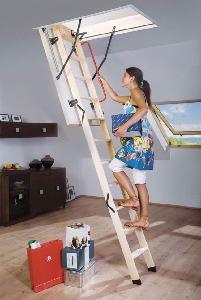 Тщательно проведенные расчеты позволят обустроить надежную и безопасную лестницу на чердак