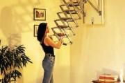 Фото 23 Чердачная лестница с люком — модный помощник в доме