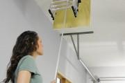 Фото 25 Чердачная лестница с люком — модный помощник в доме