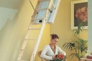 Фото 26 Чердачная лестница с люком — модный помощник в доме