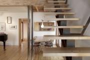 Фото 6 Деревянные лестницы на второй этаж в частном доме: 90+ фото лучших проектов и советы экспертов