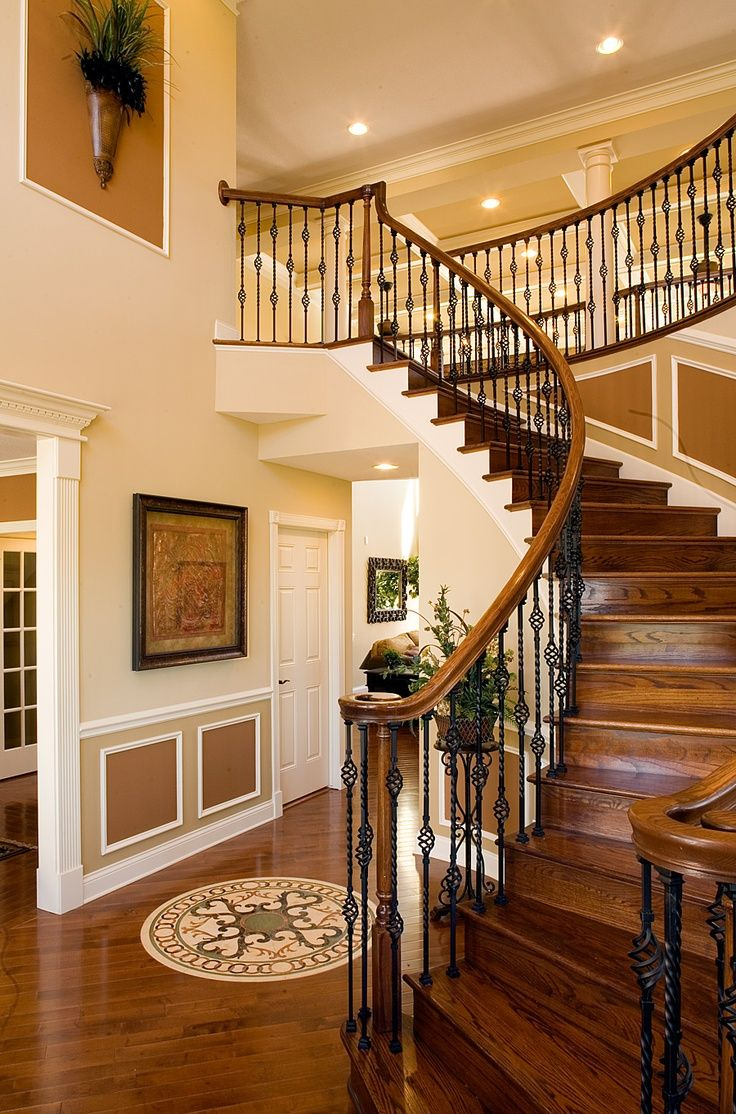 Как сделать лестницу на 2 этаж в частном доме фото