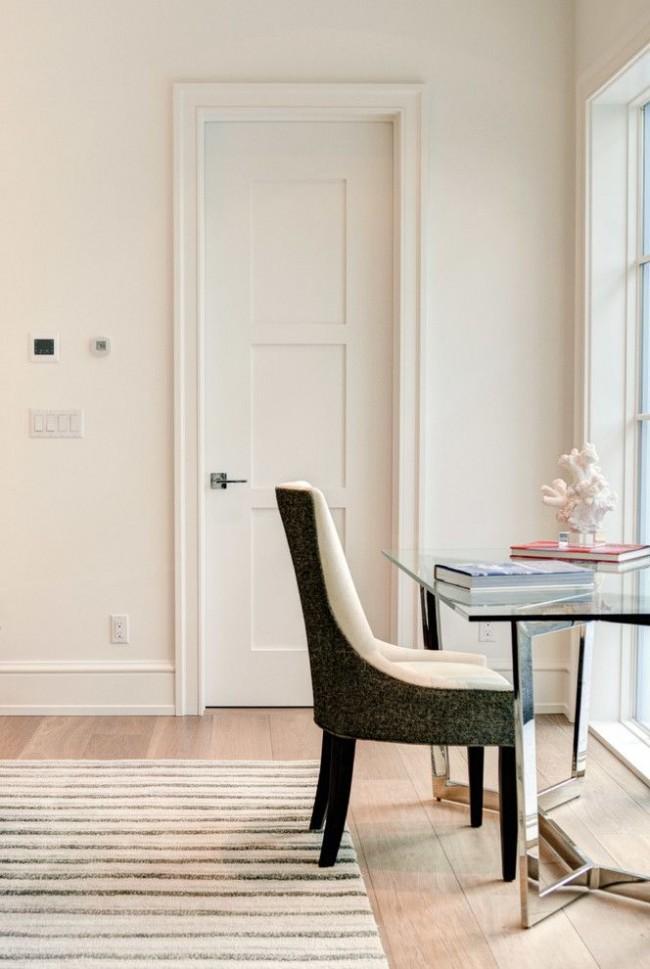 Филенчатые двери очень прочные и надежные