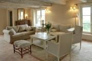 Фото 8 Дизайн интерьера гостиной в стиле прованса (100+ безупречных фотоидей): создаем уютную сказку у себя дома!