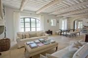 Фото 9 Дизайн интерьера гостиной в стиле прованса (100+ безупречных фотоидей): создаем уютную сказку у себя дома!