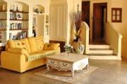 Фото 10 Дизайн интерьера гостиной в стиле прованса (100+ безупречных фотоидей): создаем уютную сказку у себя дома!