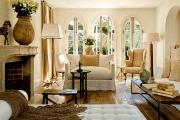 Фото 11 Дизайн интерьера гостиной в стиле прованса (100+ безупречных фотоидей): создаем уютную сказку у себя дома!