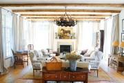 Фото 12 Дизайн интерьера гостиной в стиле прованса (100+ безупречных фотоидей): создаем уютную сказку у себя дома!
