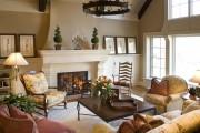 Фото 3 Дизайн интерьера гостиной в стиле прованса (100+ безупречных фотоидей): создаем уютную сказку у себя дома!
