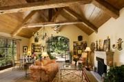 Фото 14 Дизайн интерьера гостиной в стиле прованса (100+ безупречных фотоидей): создаем уютную сказку у себя дома!