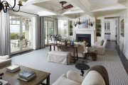 Фото 15 Дизайн интерьера гостиной в стиле прованса (100+ безупречных фотоидей): создаем уютную сказку у себя дома!