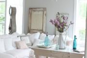 Фото 16 Дизайн интерьера гостиной в стиле прованса (100+ безупречных фотоидей): создаем уютную сказку у себя дома!