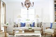 Фото 19 Дизайн интерьера гостиной в стиле прованса (100+ безупречных фотоидей): создаем уютную сказку у себя дома!