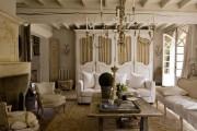 Фото 30 Дизайн интерьера гостиной в стиле прованса (100+ безупречных фотоидей): создаем уютную сказку у себя дома!