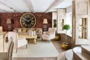 Фото 33 Дизайн интерьера гостиной в стиле прованса (100+ безупречных фотоидей): создаем уютную сказку у себя дома!