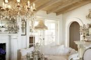 Фото 2 Дизайн интерьера гостиной в стиле прованса (100+ безупречных фотоидей): создаем уютную сказку у себя дома!