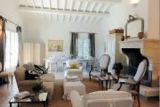 Фото 40 Дизайн интерьера гостиной в стиле прованса (100+ безупречных фотоидей): создаем уютную сказку у себя дома!