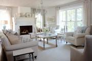 Фото 41 Дизайн интерьера гостиной в стиле прованса (100+ безупречных фотоидей): создаем уютную сказку у себя дома!