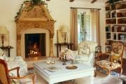 Фото 47 Дизайн интерьера гостиной в стиле прованса (100+ безупречных фотоидей): создаем уютную сказку у себя дома!