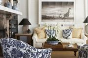 Фото 50 Дизайн интерьера гостиной в стиле прованса (100+ безупречных фотоидей): создаем уютную сказку у себя дома!
