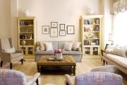 Фото 51 Дизайн интерьера гостиной в стиле прованса (100+ безупречных фотоидей): создаем уютную сказку у себя дома!