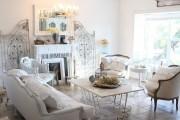 Фото 53 Дизайн интерьера гостиной в стиле прованса (100+ безупречных фотоидей): создаем уютную сказку у себя дома!