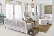 Фото 55 Дизайн интерьера гостиной в стиле прованса (100+ безупречных фотоидей): создаем уютную сказку у себя дома!
