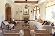 Фото 60 Дизайн интерьера гостиной в стиле прованса (100+ безупречных фотоидей): создаем уютную сказку у себя дома!