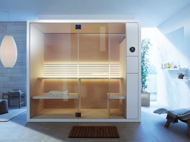 Ванная комната с инфракрасной сауной