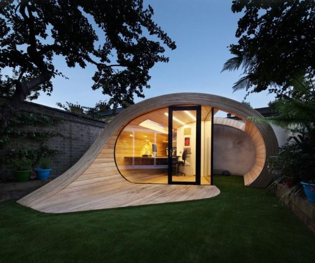 Каркасный дом может иметь совершенно разную форму