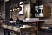 Фото 9 Кухня в стиле лофт (100+ лучших фото): создаем продуманный дизайн интерьера без дизайнера