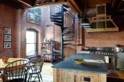 Фото 22 Кухня в стиле лофт (100+ лучших фото): создаем продуманный дизайн интерьера без дизайнера