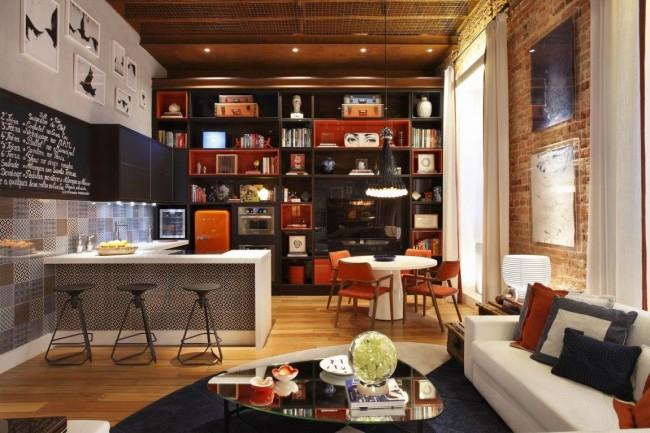 кухня в стиле лофт создаем удивительный дизайн ремонт дома