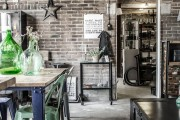 Фото 2 Кухня в стиле лофт (100+ лучших фото): создаем продуманный дизайн интерьера без дизайнера