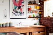 Фото 1 Кухня в стиле лофт (100+ лучших фото): создаем продуманный дизайн интерьера без дизайнера