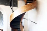 Фото 4 Лестницы на второй этаж на металлическом каркасе (59 фото): виды и правила выбора