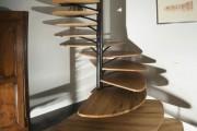 Фото 11 Лестницы на второй этаж на металлическом каркасе (59 фото): виды и правила выбора